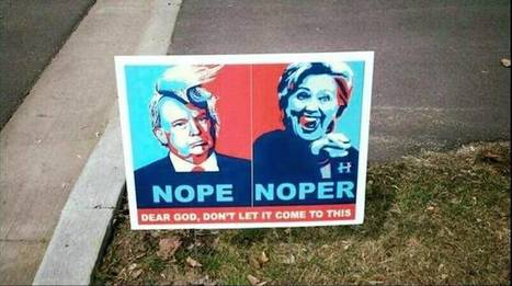 14 Unbelievable Political Signs From the 2016 Presidential Campaign - ODDEE | enjoy yourself | Scoop.it