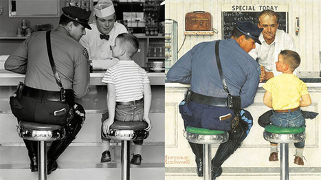The Photographs Norman Rockwell Used to Create His Famous Paintings   Digital-News on Scoop.it today   Scoop.it