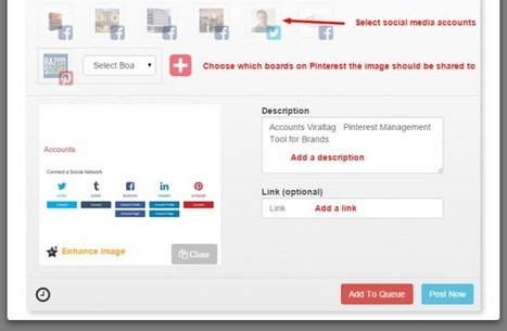 How to use Viraltag for visual content promotion | Pinterest for Business | Scoop.it