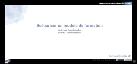 Scénariser un module de formation | Time to Learn | Scoop.it
