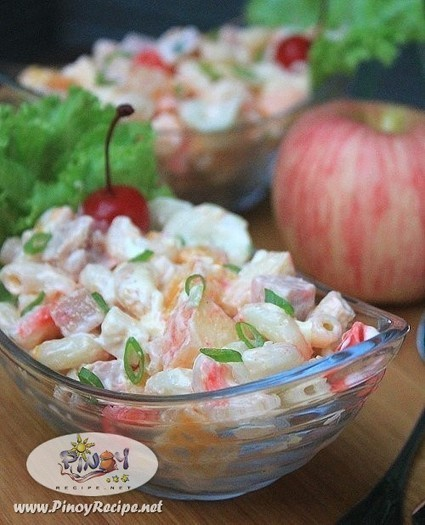 Luncheon Meat Macaroni Salad Recipe | Filipino Recipes Collection | Scoop.it