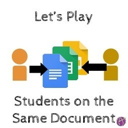 Let's Play - Students Collaborating on the Same Doc - Teacher Tech | Keeping up with Ed Tech | Scoop.it