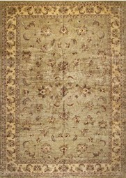 Rugsville Peshawar 5th Avenue Green Beige Wool Rug PW187 - TRADITIONAL | Oriental Rugs and Persian Rugs | Scoop.it