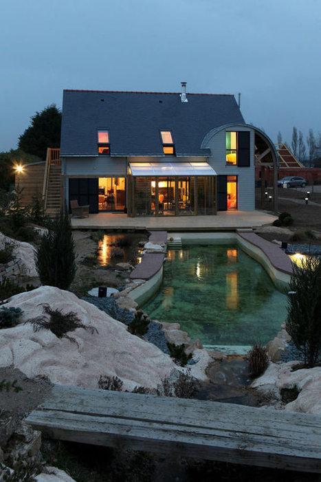 Sinh thái thân thiện Nhà Patrice Bideau ở Pháp - http://www.vccidata.com.vn | architecture..., Maisons bois & bioclimatiques | Scoop.it
