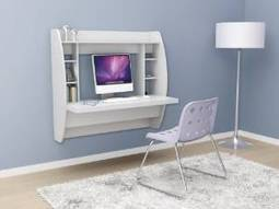 Prepac Floating Desk with Storage Review | Home Office Furniture | Scoop.it