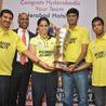 saina nehwal,Hyd Champions of IBL Succesmeet, Saina nehwal New Stills