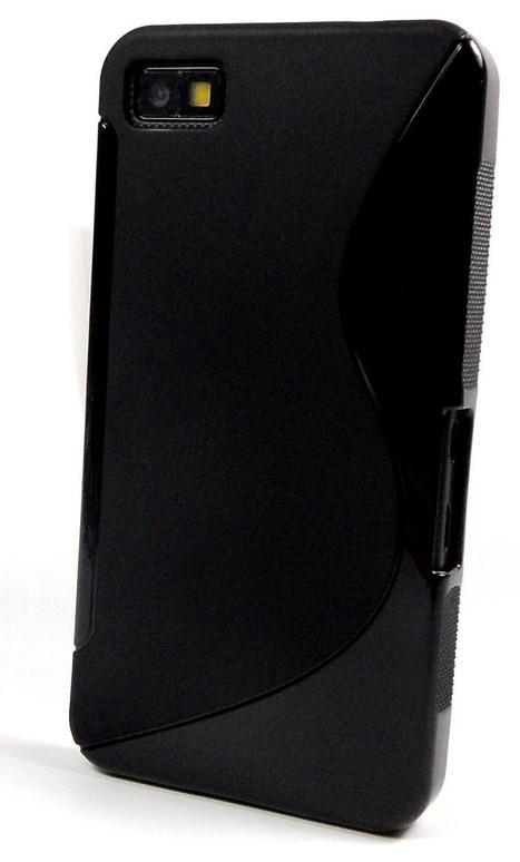 Black S Line Gel Case for BlackBerry Z10 - BlackBerry Mobile Accessories | Mobile Phone Accessories | Scoop.it