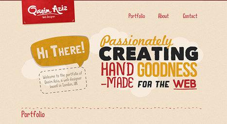 Textured Web: Showcase of Textured & Patterned Website Designs | designit | Scoop.it