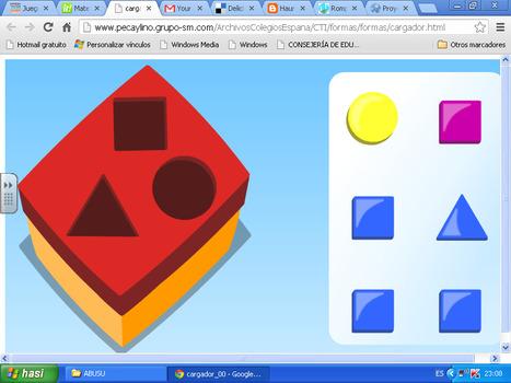 Geometria lehenengo jolasak | Matematikahaurhezkuntzan | Scoop.it