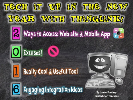 Tech It Up with ThingLink in 2016 | 21st Century Technology Integration | Scoop.it