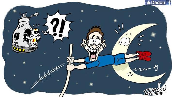 Renaud Lavillenie bat le record du monde de saut à la perche | Baie d'humour | Scoop.it