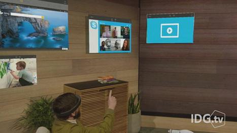 Kolla in den nya imponerande demofilmen på Microsofts hologram-headset Hololens | IKT i Utbildning | Scoop.it