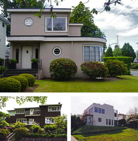 "THE ROOF OVER YOUR HEAD | Getting To Know Vancouver's ""Moderne"" House Style 