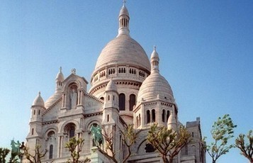 Zoom on Montmartre's Sacre Coeur Basilica | PARISCityVISION | Visit Paris | Scoop.it
