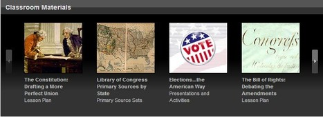 Teacher Resources | Library of Congress | 21st Century Tools for Teaching-People and Learners | Scoop.it