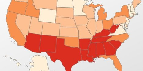 9 Maps That Should Outrage Southerners | Upsetment | Scoop.it