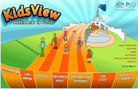 Welcome to Kidsview - Parliament in Focus, Parliamentary Education Office, Commonwealth Parliament of Australia | HSIE: change and continuity | Scoop.it