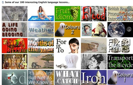 Linguaspectrum - Interesting English -Many   video lessons, Interactivities - Podcasts -  Scripts - DDoE -  Quotes - Level Tests - Daily Doses - Games -Forum - Private Classes | Brainfriendly motivating comprehension resources for ESL EFL learners | Scoop.it