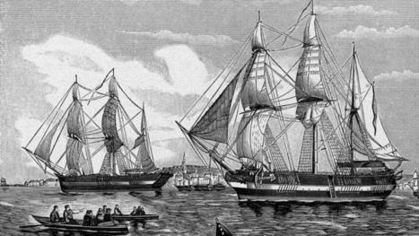 Le second navire de John Franklin, disparu en 1846 a bien été découvert | Histoires d'Epaves | Scoop.it