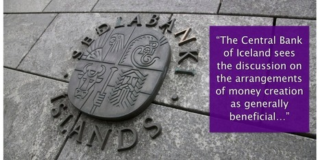 The Central Bank of Iceland welcomes the monetary reform resolution | The Money Chronicle | Scoop.it