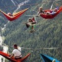 Attendees of this festival slept on hammocks that hung across The Italian Alps | Chasing the Future | Scoop.it