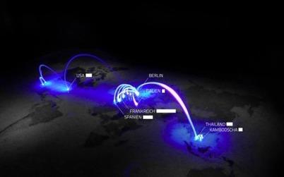Voorbeeld: Lichtreise   Datavisualisatie   Scoop.it