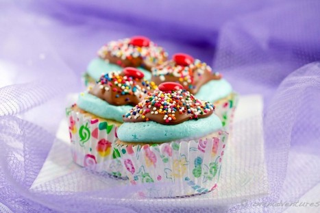 Sundae Cupcakes (Funfetti Cupcakes with Cotton Candy Buttercream) | Mis-Cakes Oven Adventures | À Catanada na Cozinha Magazine | Scoop.it