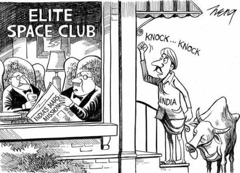 India gets last laugh against America's 'elite space club' | THE POWERS THAT BE | Scoop.it