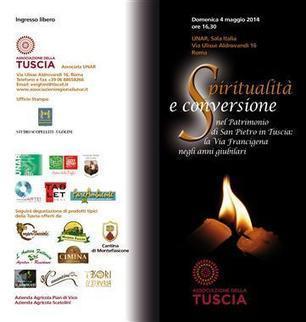Roma - Conferenza su Spiritualità e conversione nel Patrimonio di S. Pietro in Tuscia: la Via Francigena negli anni giubilari   via civitanews.it   Ambiente   Scoop.it