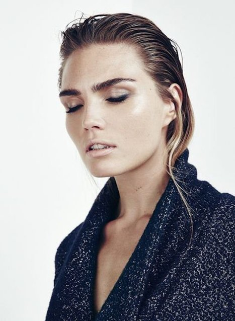 Hair Inspiration Monday: slicked back hair | Rob Peetoom Blog | kapsel trends | Scoop.it