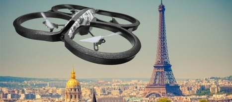 Un festival de drones à Paris | Une nouvelle civilisation de Robots | Scoop.it