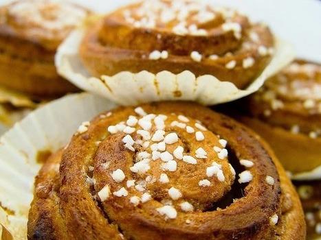 Recette de pains au lait à la cannelle - Kanelbullar (Suède)   Petits déjeuners et pains de la rue, dans le monde   Scoop.it
