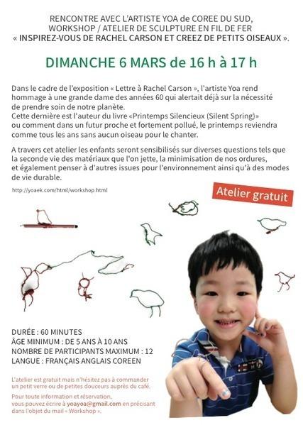 Vernissage jeudi, atelier pour enfants dimanche ! | Le café de la fontaine à Verlinghem | Verlinghem actu | Scoop.it