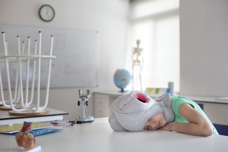 New Ostrich Pillow Junior Lets Kids Nap Anywhere | Design Inspiration and Creative Ideas | Scoop.it
