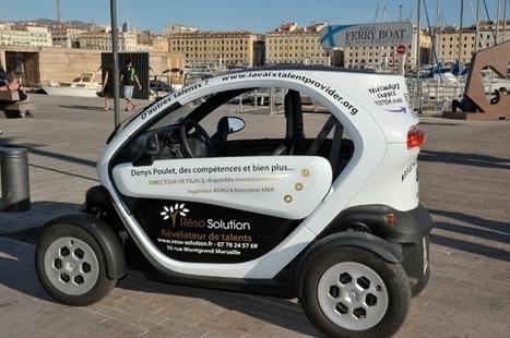 Il affiche son CV sur un véhicule électrique dans les rues de Marseille | Insolites | Scoop.it