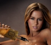 German liquor company pours its alcohol down models' bare breasts before bottling | Show Prep | Scoop.it