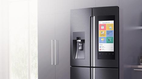 CES 2016, il frigo Samsung permette di far la spesa sul display dello sportello - Wired | innovation | Scoop.it