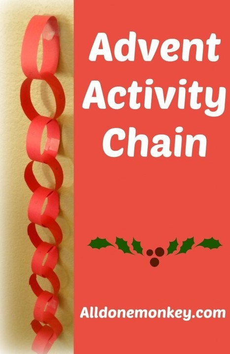 Advent Calendar: Activity Chain | Children-Education,Safety,Food,poverty. | Scoop.it