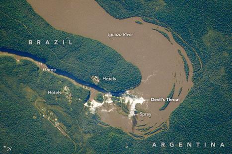 Iguazú Falls | Conformable Contacts | Scoop.it