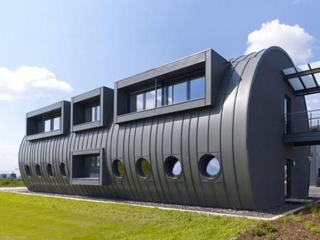 Un bâtiment oléoduc en zinc-titane se dévoile en Allemagne | Allemagne | Scoop.it