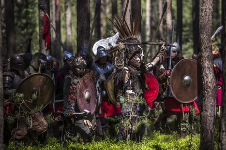 Hobbit Fans Re-Enact The 'Battle of Five Armies' | World Hobbit Project | Scoop.it