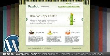 Bamboo — Wordpress Theme   Medical wordpress themes   Scoop.it