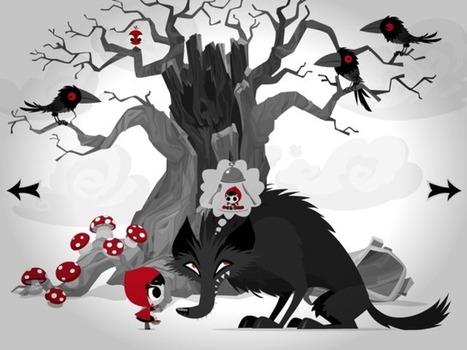 Le petit chaperon rouge : du numérique aux marionnettes | Narration transmedia et Education | Scoop.it