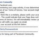 Achtung vor Phishing-Nachricht für Facebook-Seiten – mit etwas Pech ist der komplette Facebook-Login in falschen Händen! | Social Media Consulting | Scoop.it
