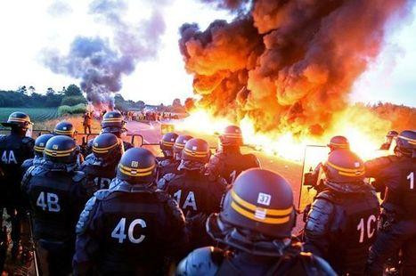 CNA: Las huelgas amenazan con dejar a Francia hasta sin luz pero Valls no cede | La R-Evolución de ARMAK | Scoop.it