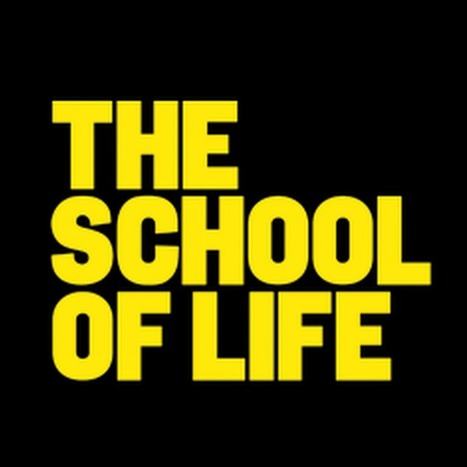 The School of Life - YouTube | Tendances & Inspirations. Le Monde Autrement. | Scoop.it