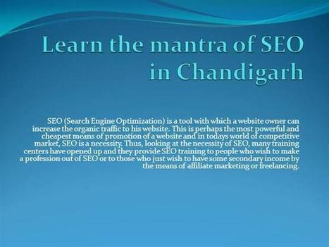 Chandigarh SEO Training | Daksha Academy | Scoop.it
