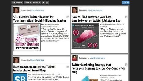 """Seis herramientas para realizar """"content curation""""   TICyTAC   Scoop.it"""