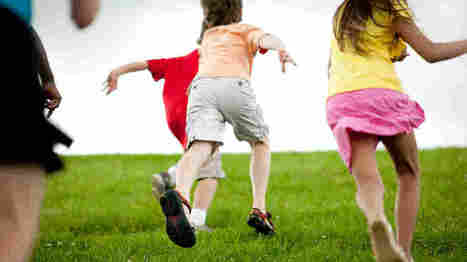 More Active Play Equals Better Thinking Skills For Kids : Shots - Health News : NPR | Parents & Children, Learn & Play | Scoop.it