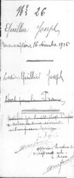 Quillier Joseph, (non) mort pour la France | GenealoNet | Scoop.it